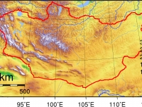 Mongolia_Topography