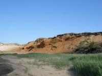 Das Morsum-Kliff in Morsum auf Sylt