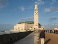 Hassan-II.-Moschee, casablanca, Marokko