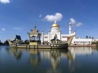 Mosque bsb brunei front