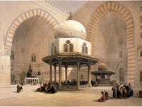 Mosque_of_Sultan_Hassan,_Cairo-David_Roberts