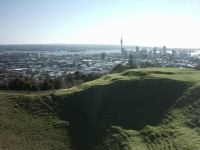 Mount Eden Crater Hollow Auckland