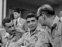 Gamal Abdel Nasser und Muhammad Nagib (1953)