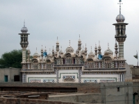 Muhammadi Masjid, a mosque with beautiful minarets