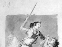 Mujer_maltratada_con_un_bastón_(Goya)