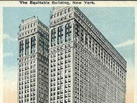 NYC Equitable Building Before 1919 postcard