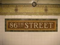 NYC subway 86th Street 50