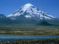Nevado Sajama (6542m), Bolivien