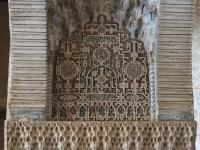Niche under an arch alhambra granada