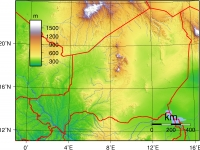 Niger_Topography