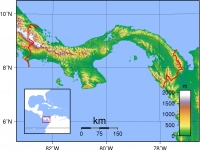 Panama_Topography