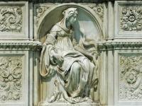 Fontaine des Glücks, piazza del Campo, Siena.