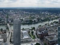 Panorama von Frankfurt am Main vom Maintower