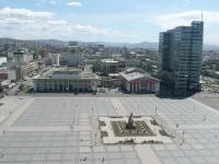 Panorama von Ulan Bator, Mongolei