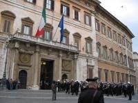 Italinisches Parlamentsgebäude