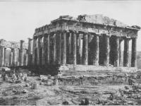Parthenon bw
