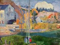 Paul Gauguin: Die David-Mühle in Pont-Aven (1894)