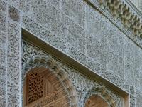Pavillon jardines del Partal Alhambra Granada