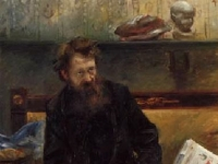 Peter Hille, by Lovis Corinth, 1902