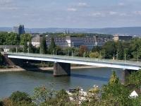 Die Pfaffendorfer Brücke in Koblenz