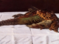 Pheasant Claude Monet 1869