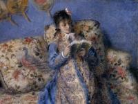 Pierre August Renoir: Camille Monet beim Lesen