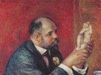Renoir: Porträt des Ambroise Vollard, 1908
