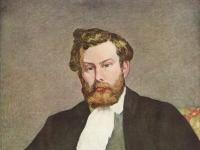 Porträt des Malers Alfred Sisley (868)