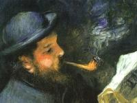 Pierre_August_Renoir,_Claude_Monet_Reading