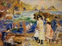 Pierre_Auguste_Renoir_Enfants_au_bord_de_la_mer_a_Guernsey