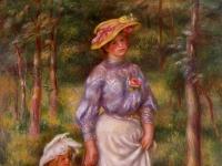 Pierre-Auguste Renoir: La promenade (1906)