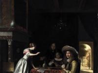 Pieter de Hooch - Card Players at a Table