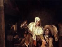 Pieter de Hooch - The Empty Glass