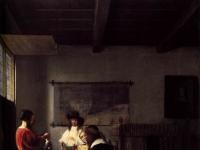 Pieter de Hooch - The Visit