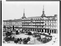 Plaza Major, Madrid (1860-1880)