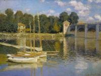Pont Argenteuil Monet 2