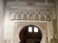 Portada mezquita aljaferia