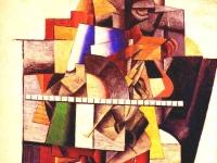 Portrait of Matiushin Kazimir Malevich 1913
