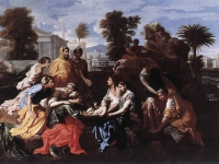 Poussin,_Finding_of_Moses,_1651