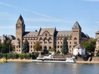 Ehem. preußisches Regierungsgebäude der Rheinprovinz in den Rheinanlagen in Koblenz, heute Sitz des BWB