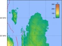 Qatar Topography
