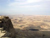 Makhtesh Ramon, Negev-Wüste, Israel.