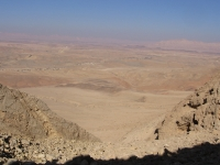 Machtesch Ramon, negev-Wüste, Israel.