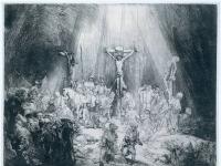 Rembrandt: Die drei Kreuze (1653)