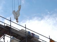 Restoration work on the Parthenon
