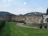 Überreste des spätrömischen Kastells in Boppard