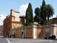Roma_Campo_Santo_Teutonico_BW_1
