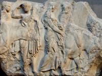 Sacrifice south frieze Parthenon BM