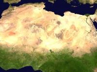 Sahara: Aufnahme aus dem Weltraum