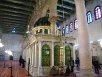 SaintJohnBaptistShrine in Umayyad mosque Damascus Syria